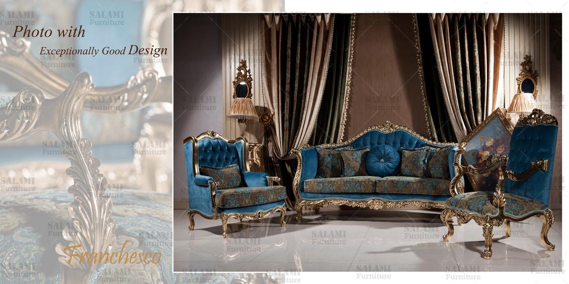 تصاویری از  مبلمان کلاسیک شرکت مبل سلامی