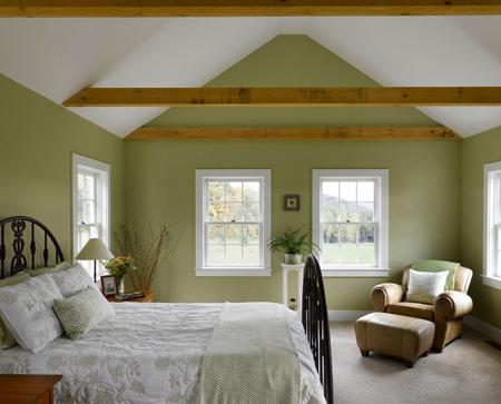 اگر رنگ سبز را دوست داشته باشید می تواند انتخاب آرامش بخشی برای دیوارهایتان به حساب بیاید