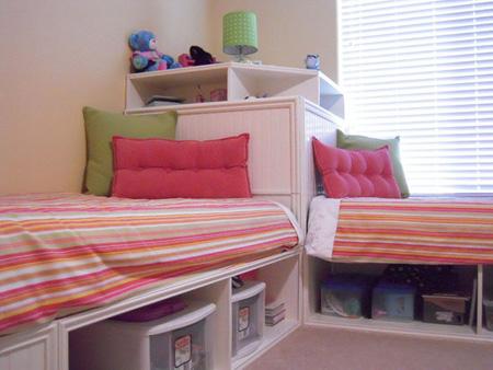 نکاتی برای چیدمان یک اتاق خواب برای دو فرزند