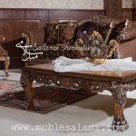 تصویر دیگری از کاناپه و جلو مبلی رز | مبل کلاسیک