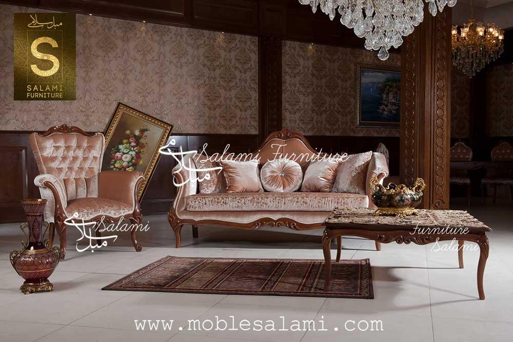 کاناپه و جلو مبلی ویال