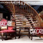 مبلمان استیل کلاسیک دالاس